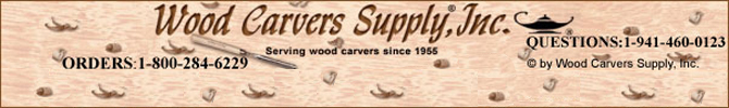Wood Carvers Supply